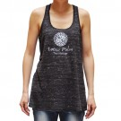 Racerback Tank Top with Yin Yang